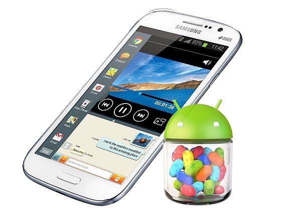Samsung Galaxy Grand gets Android 4.2.2 Jelly Bean update