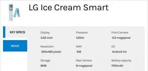 LG Ice Cream Smart Flip Phone With 4G LTE