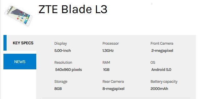 zte-blade-l3-specs