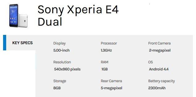 sony-xperia-e4-dual-specs